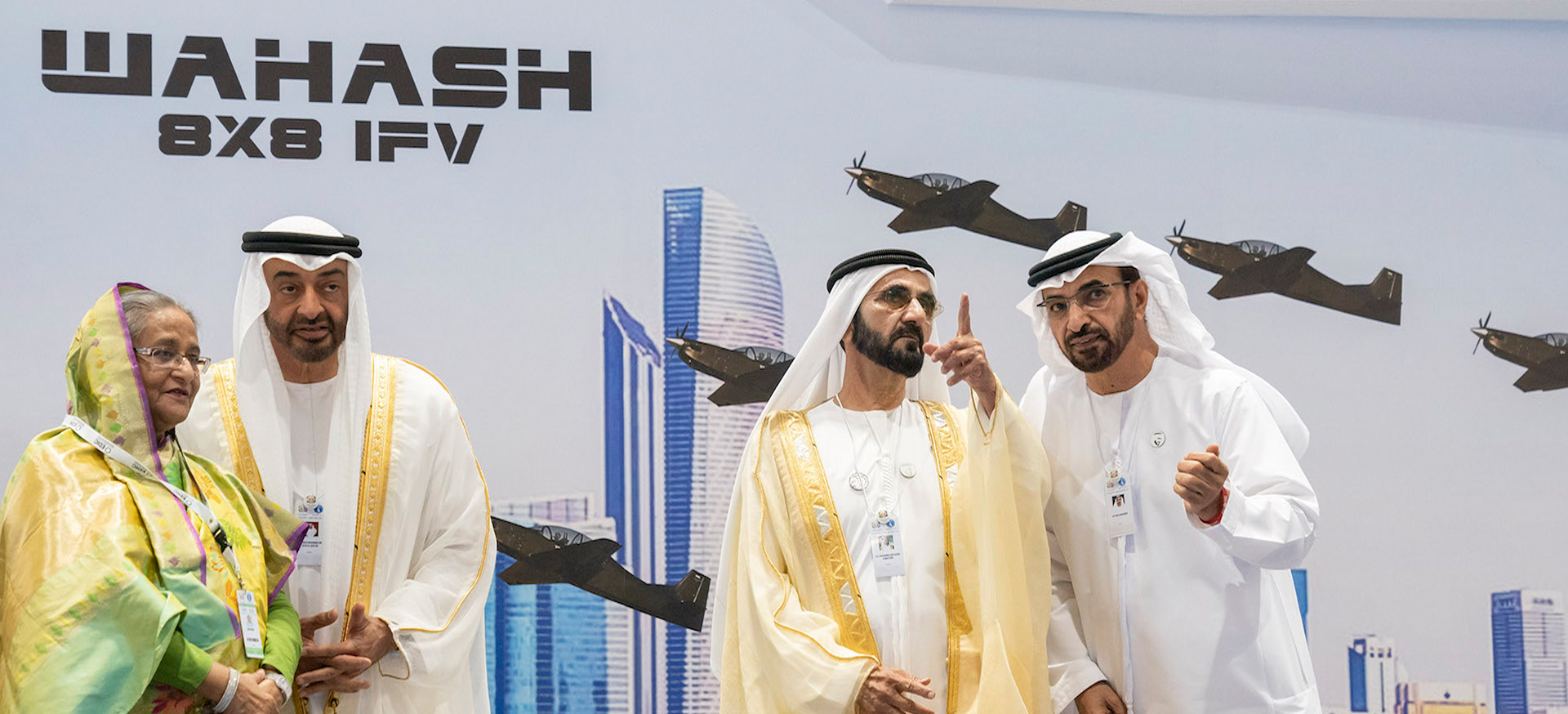 IDEX 2019 Defense Exhibition in Abu Dhabi
